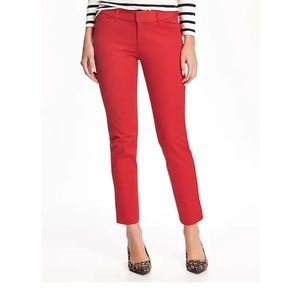[Old Navy] Red Pixie Pants!